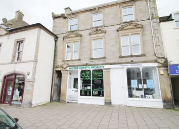Thumbnail 1 bed flat for sale in 27A, High Street, Peebles EH458An