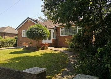 Thumbnail 3 bed detached bungalow to rent in Fir Road, Stockport