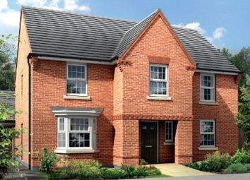 "Thumbnail 4 bed detached house for sale in ""Winstone"" at Newton Road, Burton-On-Trent"