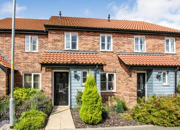 Thumbnail 2 bed terraced house for sale in Minns Crescent, Poringland, Norwich