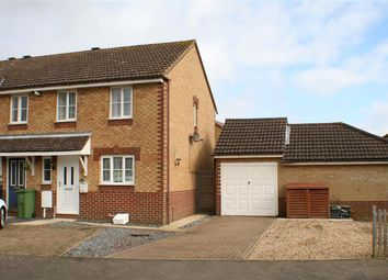 Thumbnail 3 bed end terrace house for sale in Gray Close, Hawkinge, Folkestone Kent