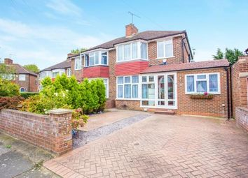 Thumbnail 4 bed semi-detached house for sale in Braemar Gardens, London