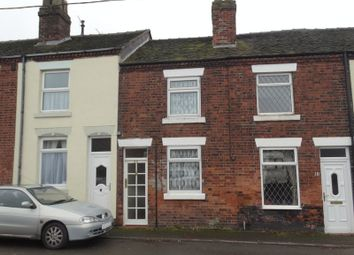 Thumbnail 2 bed terraced house for sale in The Bank, Scholar Green, Stoke-On-Trent