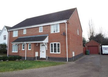 Thumbnail 3 bedroom property to rent in Suttons Road, Worlingham, Beccles