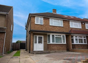 Thumbnail 3 bed terraced house to rent in Rochford Avenue, Romford