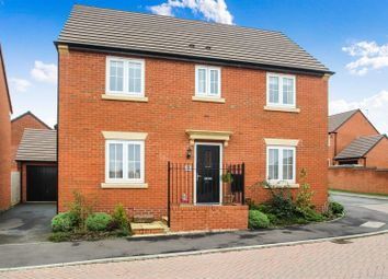 Thumbnail 4 bed detached house for sale in Burrow Drive, Rothley, Leicester