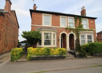 Thumbnail 4 bed semi-detached house for sale in Alexandra Road, Burton-On-Trent