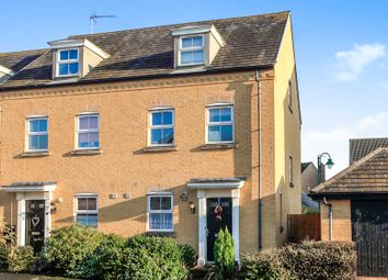 Thumbnail 3 bedroom end terrace house for sale in Sprigs Road, Hampton Hargate, Peterborough