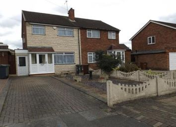 Thumbnail 3 bed semi-detached house to rent in Broad Lane, Pelsall, Walsall