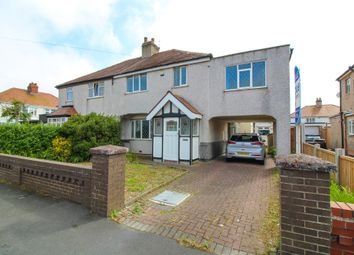 Thumbnail 4 bed semi-detached house for sale in Gresham Road, Thornton-Cleveleys