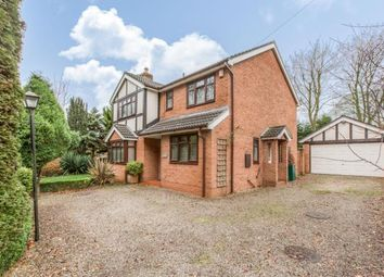 Thumbnail 4 bed detached house for sale in Sandy Lane, Aston, Nantwich, Cheshire