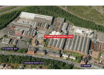 Thumbnail Land to let in Yard 35, Flemington Industrial Estate, Craigneuk Street, Motherwell, North Lanarkshire
