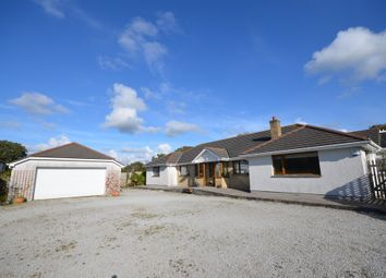 Thumbnail 4 bedroom detached bungalow for sale in Goonown, St. Agnes