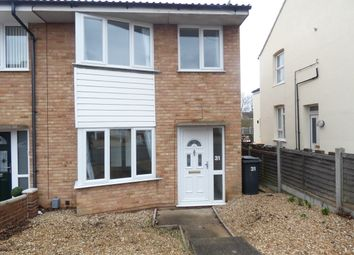 Thumbnail 3 bedroom end terrace house to rent in Farrer Street, Kempston, Bedford