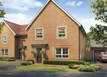 "Thumbnail 4 bedroom detached house for sale in ""Oakham"" at The Ridge, London Road, Hampton Vale, Peterborough"