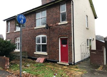Thumbnail 3 bed semi-detached house to rent in Stafford Road, Cannock
