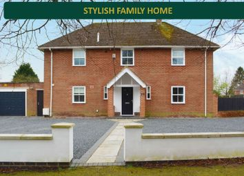 Thumbnail 4 bed detached house for sale in Hindoostan Avenue, South Wigston, Leicester