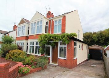 Thumbnail 4 bed semi-detached house for sale in Crystal Avenue, Heath