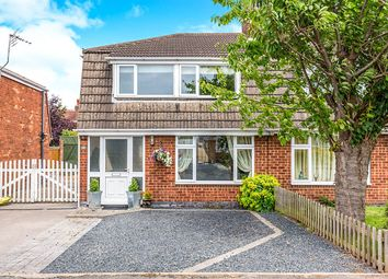 Thumbnail 3 bed semi-detached house for sale in Vicarage Close, Newbold Coleorton, Coalville