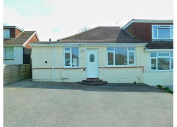 Thumbnail 3 bed semi-detached bungalow for sale in Mountview Road, Lancing