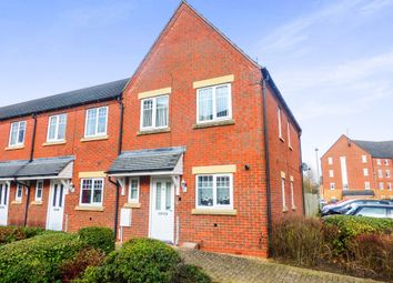 Thumbnail 3 bedroom end terrace house for sale in Hedgerow Close, Greenlands, Redditch