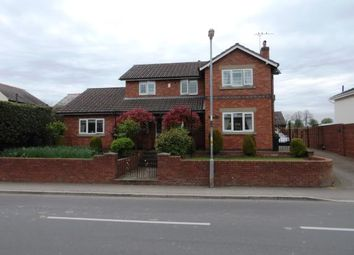 Thumbnail 4 bed detached house for sale in Church Road, Saughall, Chester