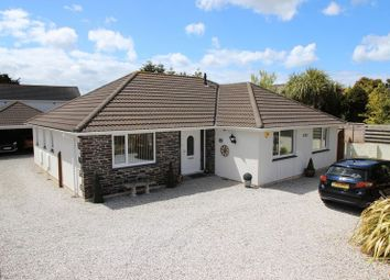 Thumbnail 4 bed detached bungalow for sale in Treloggan Road, Newquay