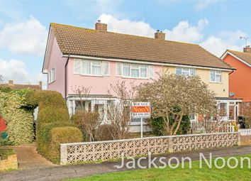 Thumbnail 3 bed semi-detached house for sale in Gadesden Road, West Ewell, Epsom