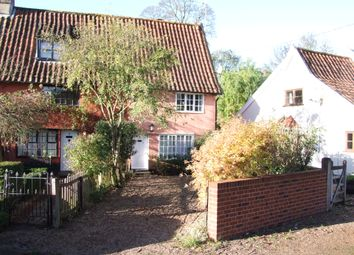 Thumbnail 2 bedroom end terrace house for sale in Rectory Cottages, Kelsale, Saxmundham, Suffolk