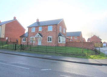 Thumbnail 3 bed detached house for sale in Poplar Close, Wrexham Road, Whitchurch