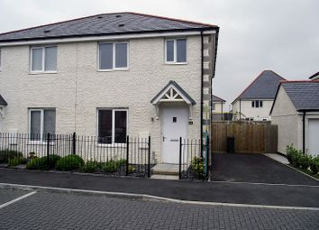 Thumbnail 3 bedroom semi-detached house to rent in Penwethers Crescent, Truro