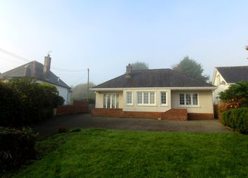 Thumbnail 3 bed detached bungalow for sale in North Road, Lampeter, Ceredigion