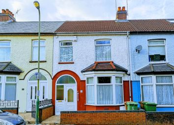 Thumbnail 3 bed terraced house for sale in Goodrich Avenue, Caerphilly