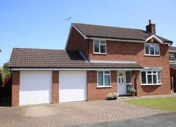 Thumbnail 4 bedroom detached house for sale in Manor Drive, Sudbrooke, Lincoln