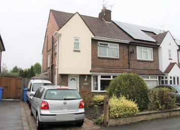 Thumbnail 3 bed semi-detached house for sale in Littleover Lane, Littleover, Derby