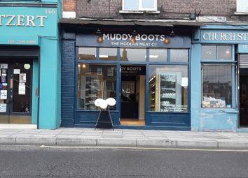 Thumbnail Retail premises to let in 144 Stoke Newington Church Street, London