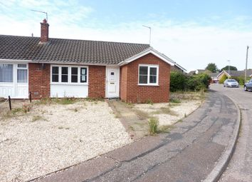 Thumbnail 1 bed semi-detached bungalow for sale in Trinity Close, Dereham