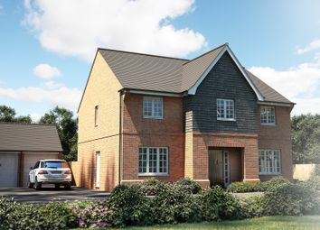 """Thumbnail 5 bedroom detached house for sale in """"The Sandham"""" at Town Farm Close, Thame"""