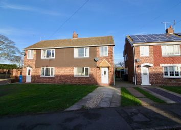 Thumbnail 3 bed semi-detached house for sale in Station Avenue, Ranskill, Retford