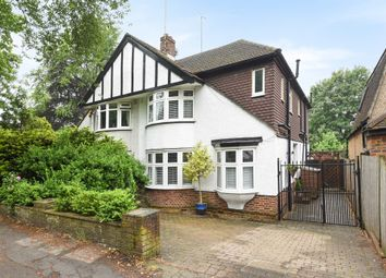 Thumbnail 4 bedroom semi-detached house for sale in Cheam Road, Ewell, Epsom