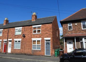 Thumbnail 2 bed end terrace house for sale in Liddington Street, New Basford, Nottingham