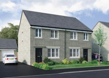 "Thumbnail 3 bed semi-detached house for sale in ""Stretton"" at Apperley Road, Apperley Bridge, Bradford"
