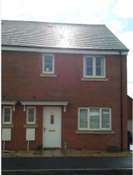 Thumbnail 3 bed semi-detached house to rent in Anson Avenue, Calne, Wiltshire