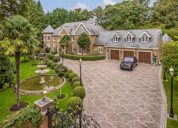 Christchurch Road, Virginia Water, Surrey GU25. 6 bed detached house for sale