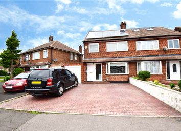 Thumbnail 3 bed semi-detached house for sale in Farm Avenue, Swanley, Kent