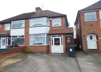 Thumbnail 3 bedroom semi-detached house for sale in Sylvan Avenue, Northfield, Birmingham