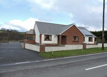 Thumbnail 3 bed detached bungalow for sale in Llanybydder