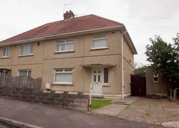 Thumbnail 3 bed semi-detached house to rent in Llanerch Crescent, Swansea, West Glamorgan