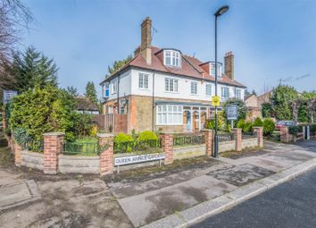 Thumbnail 5 bed semi-detached house for sale in Queen Annes Gardens, Bush Hill Park Conservation Area, Enfield