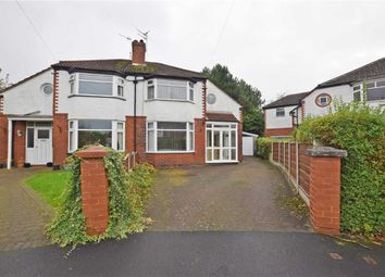 Thumbnail 3 bed semi-detached house for sale in Fairlea Avenue, Didsbury, Manchester